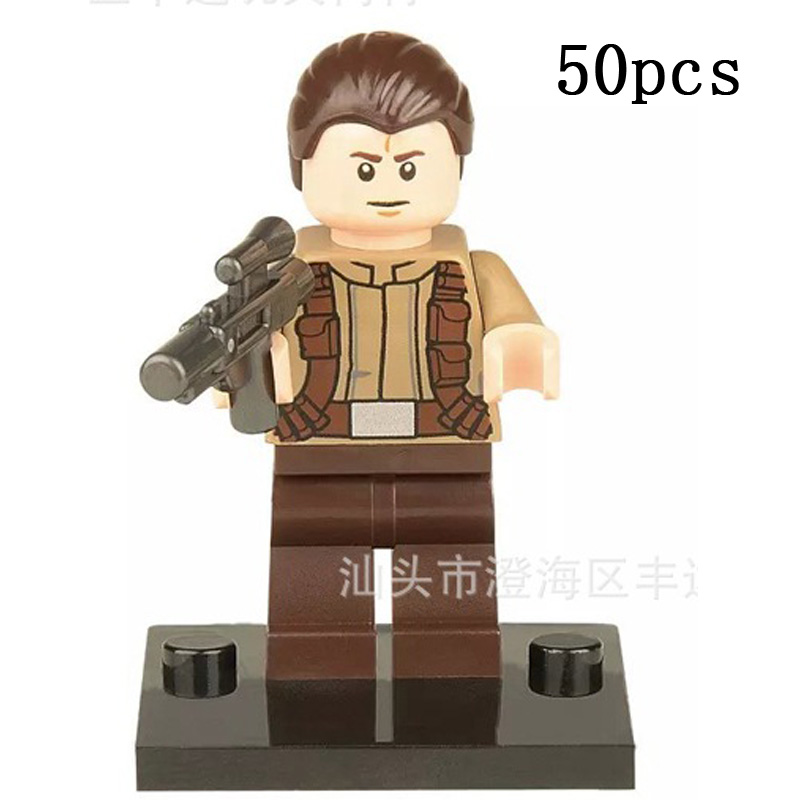 Pogo Gifts Wholesale 50PCS XH150 Resistance Star Wars Building Blocks Bricks Toys Compatible Legoe