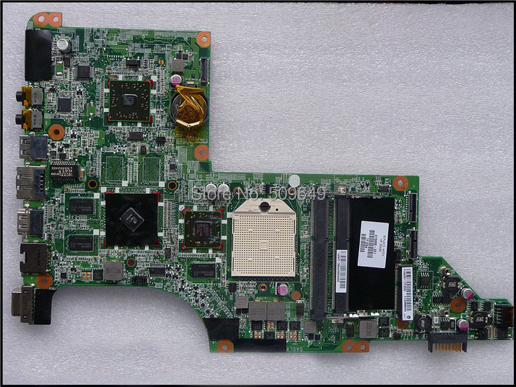 Top quality , For HP laptop mainboard 615686-001 DV6 dv6-3000 laptop motherboard,100% Tested 60 days warranty laptop motherboard for hp dv6 dv6 3000 595133 001 fully tested