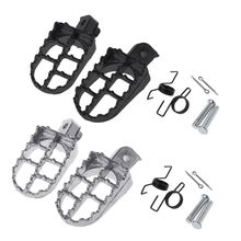 A Pair Of PW50 Pedals Off-Road Motorcycle Modified All Aluminum Pedal Car Accessories Small High Racing