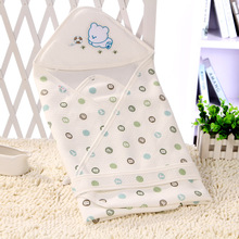 Spring and summer baby hug by newborn bag thin cotton blanket carpet swaddling towel Quilt