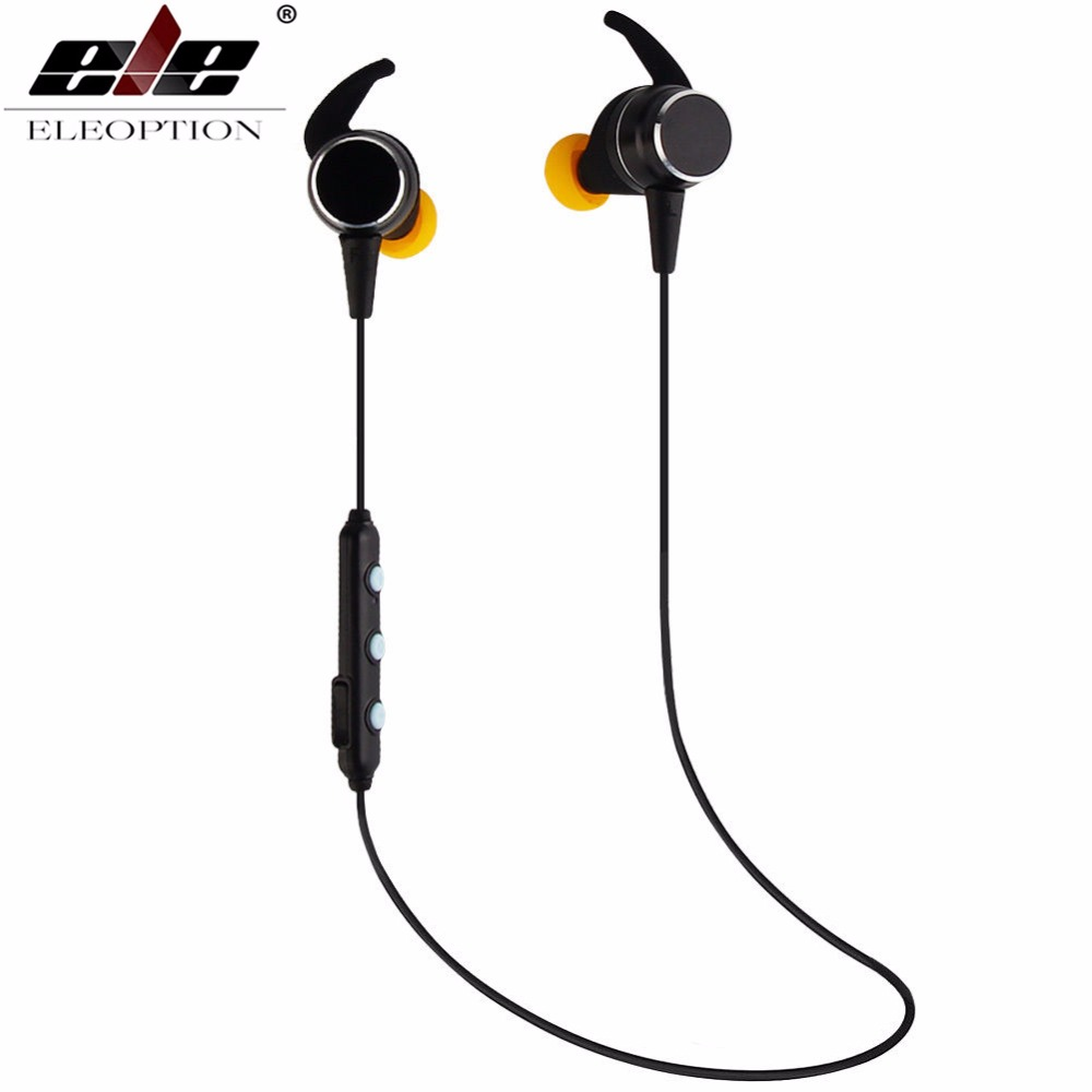 ELE ELEOPTION 4.2V Wireless Sport Headphones Stereo Bluetooth Magnetic Headset Earphone Bluetooth Earbuds fone de ouvido magnet showkoo stereo headset bluetooth wireless headphones with microphone fone de ouvido sport earphone for women girls auriculares