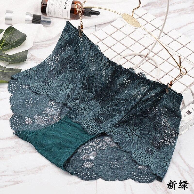 Plus Size Hot Underwear Women Panties Briefs For Female Hipster Underpant Sexy Lingerie Lace Cotton String Big Size Hot Sale