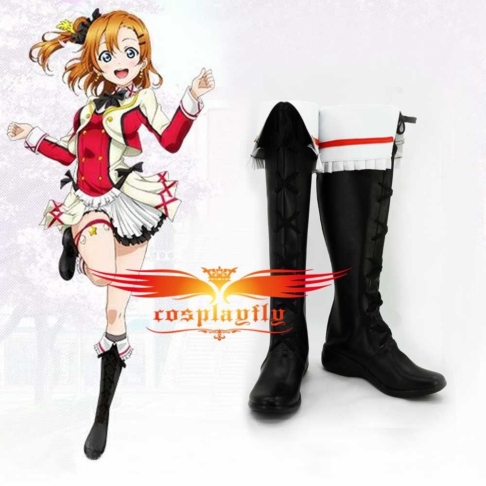 Love Live School Idol Project Dream Honoka Kosaka Cosplay shoes boots Any Size Adult Halloween Carnival Christmas For Costume