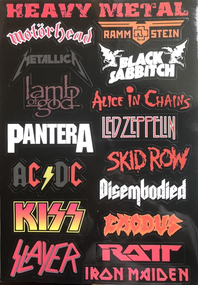 Heavy Metal Rock Punk Travel Тақырыптық ноутбук - Ноутбуктердің аксессуарлары - фото 4