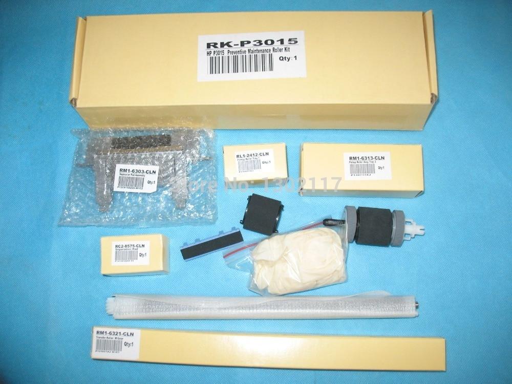 Maintenance Roller Kit For HP LaserJet P3015 M525 M521 repalce paper roller kit for hp laserjet laserjet p1005 6 7 8 m1212 3 4 6 p1102 m1132 6 rl1 1442 rl1 1442 000 rc2 1048 rm1 4006