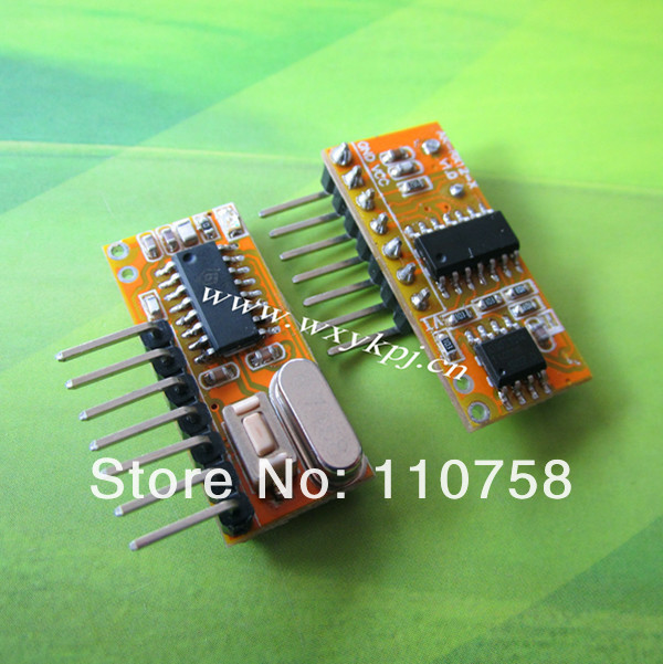 ASK Super-heterodyne 4channels receiver rf transmitter and receiver module appliances gsm power transmitter and receivers