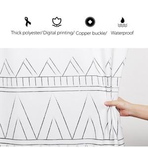 Image 3 - LIANGQI Thicken Ethnic tassel 샤워 커튼 욕실 도구 파티션 방수 고품질 매달려 커튼 홈 인테리어