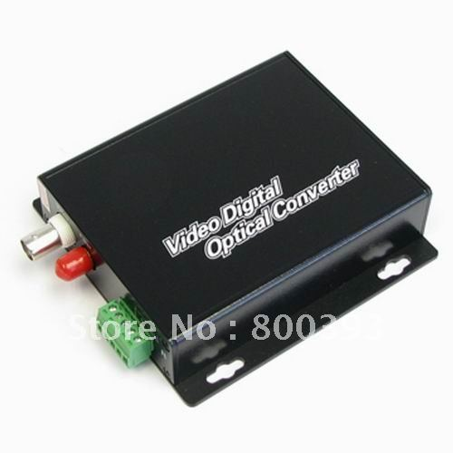 Dropshipping,Wholesale,1 Channel CCTV digital Optical Video Converter for PTZ Camera(1 CH Video+