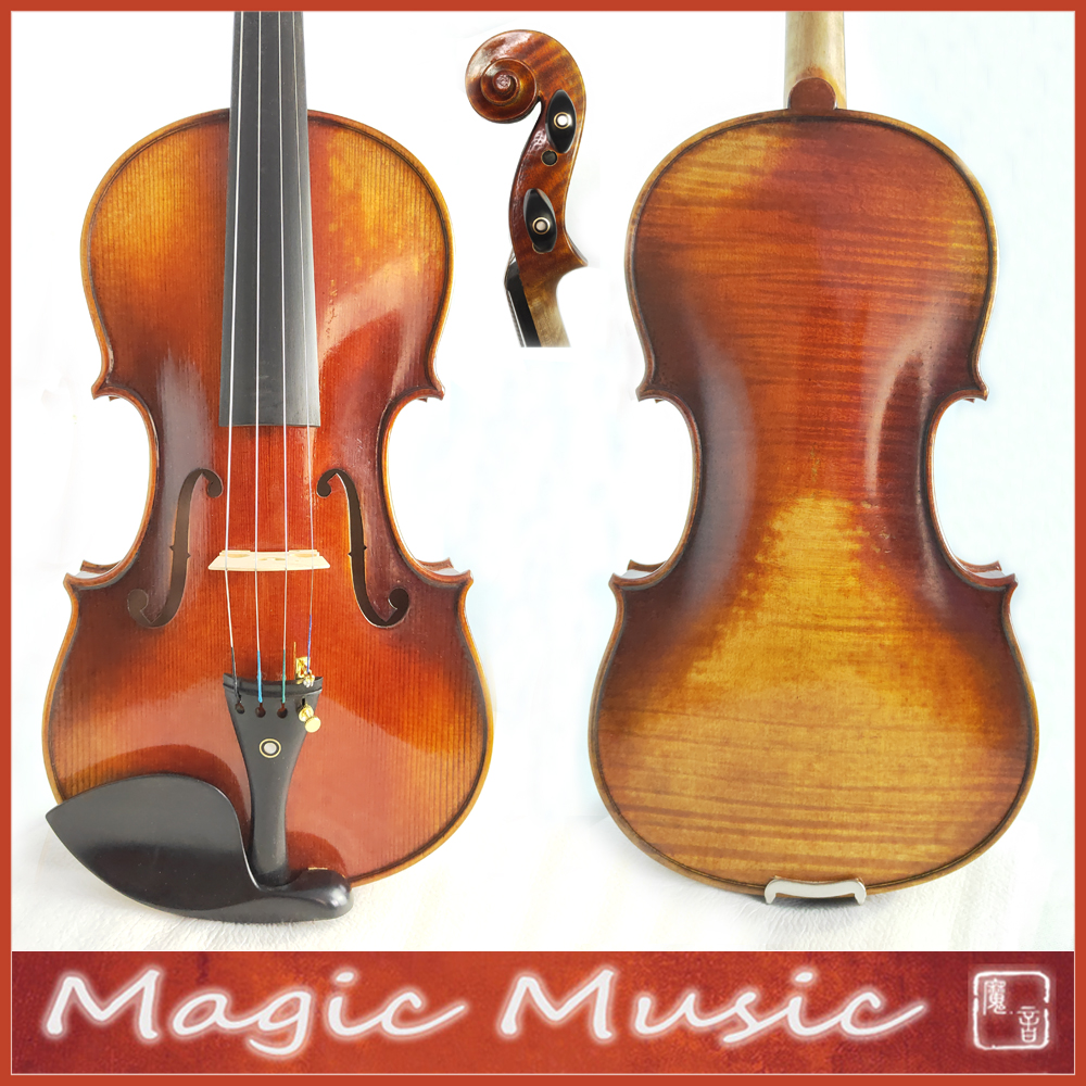 Master Level 18 Years Old European Spruce Stradivarius Lord Wilton Top Master Violin 4 4 2120