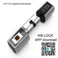 304 Stainless steel Fingerprint lock moblie remote control lock for door