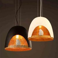 Nordic Modern Iron Resin Bird Loft Cafe Bar Bedroom Chandelier Corridor Ceiling Lamp Light Droplight Decor Store Hall Bedside