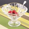 Envío Gratis cristal helado ensalada del vidrio aperitivos creativos
