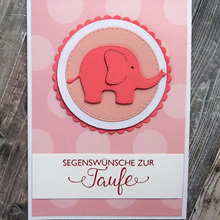 JC Animal Metal Cutting Dies for Scrapbooking Cut Elephant Craft Stencil Handmade Paper Card Making Model Decoration 2019