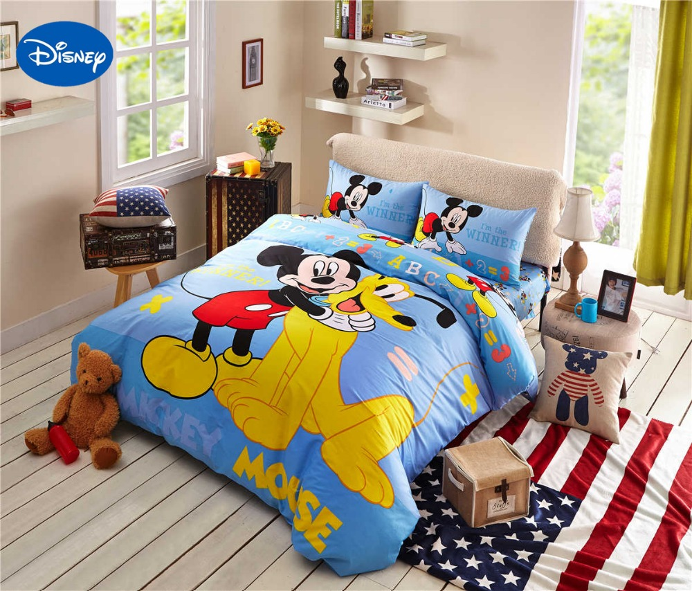 Mickey Mouse Bedroom Decorating Popular Mickey Mouse Full Size Bedding Buy Cheap Mickey Mouse Full