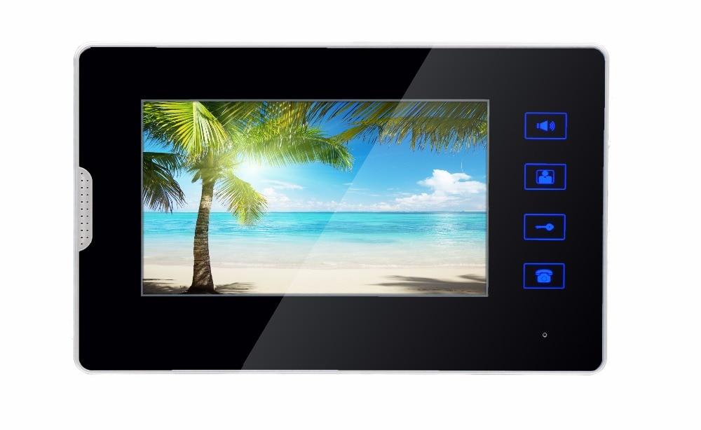 SmartYIBA 7 Inch Video Door Phone Indoor Monitor TFT Color LCD Screen Display for BuildingI Apartment Intercom System Doorbell
