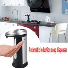 400Ml Electroplated Automatic Liquid Soap Dispenser Smart Sensor Touchless ABS Sanitizer for Kitchen Bathroomwor