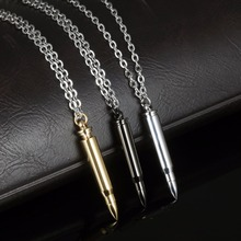 5 pcs Long Bullet Urn Necklace
