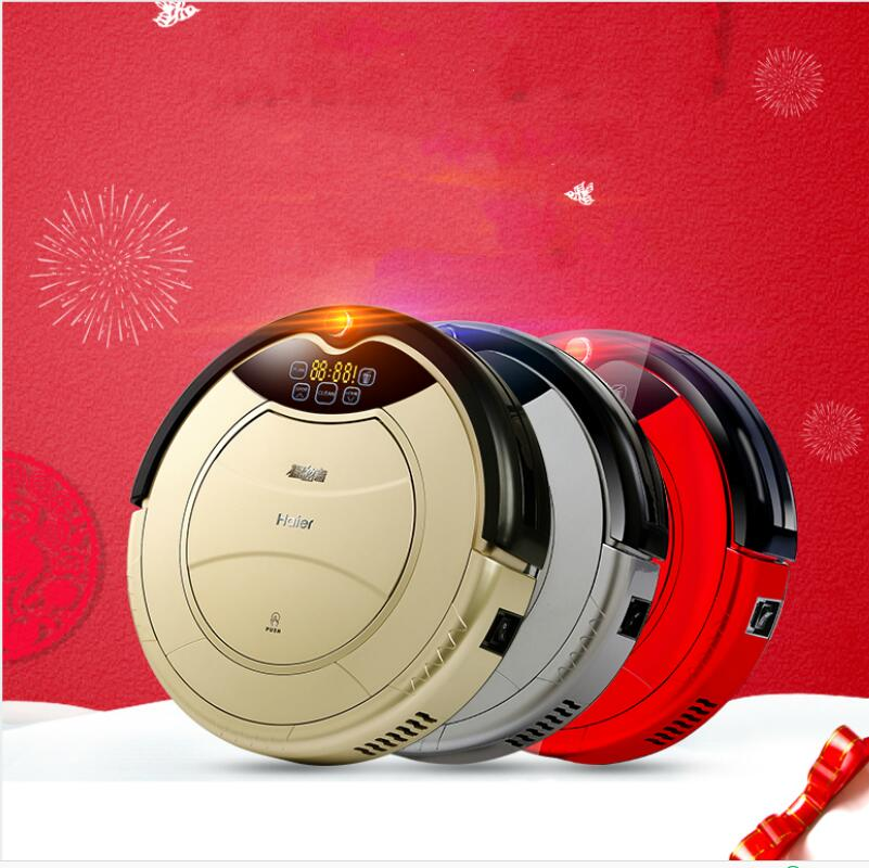 1000 Pa Suction Robot Vacuum Cleaner Home Carpet Floor Anti Collision Fall Auto
