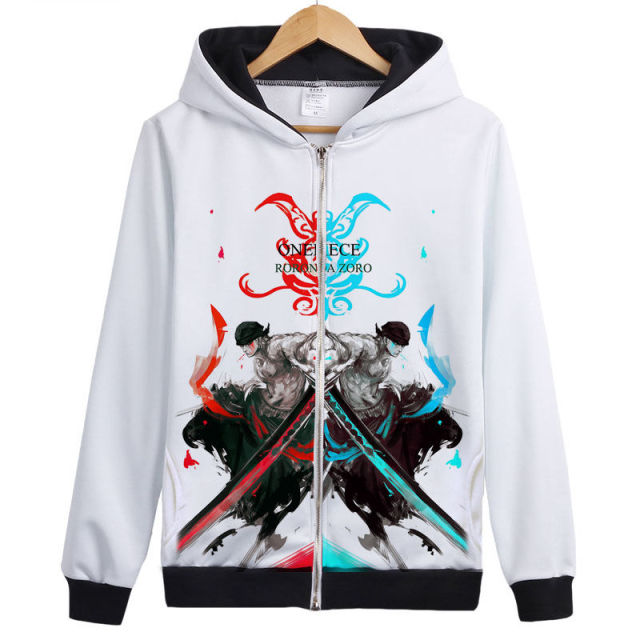 One piece RORONOA ZORO Fashion Sweatshirt For Men