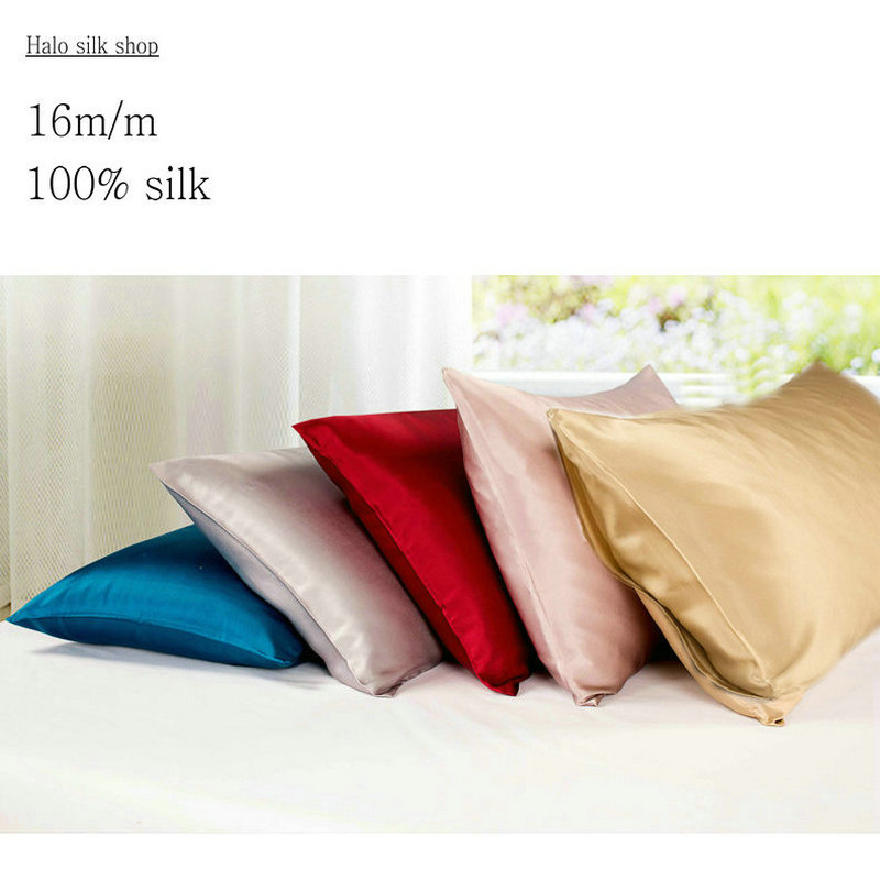 16m/m Envelope style Double Face Silk Pillowcase Satin