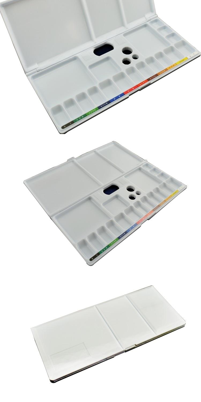 watercolor color palette