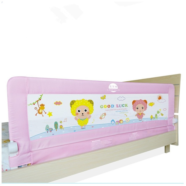 Suitable For Thick And Thin Mattress Baby Bedrail Foldable Protection Bedl Guardrail 20064cm