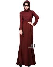2016 Plus size abaya long sleeve dubai kaftan islamic caftan marocain  Chemical fiber 1ae804589ccc