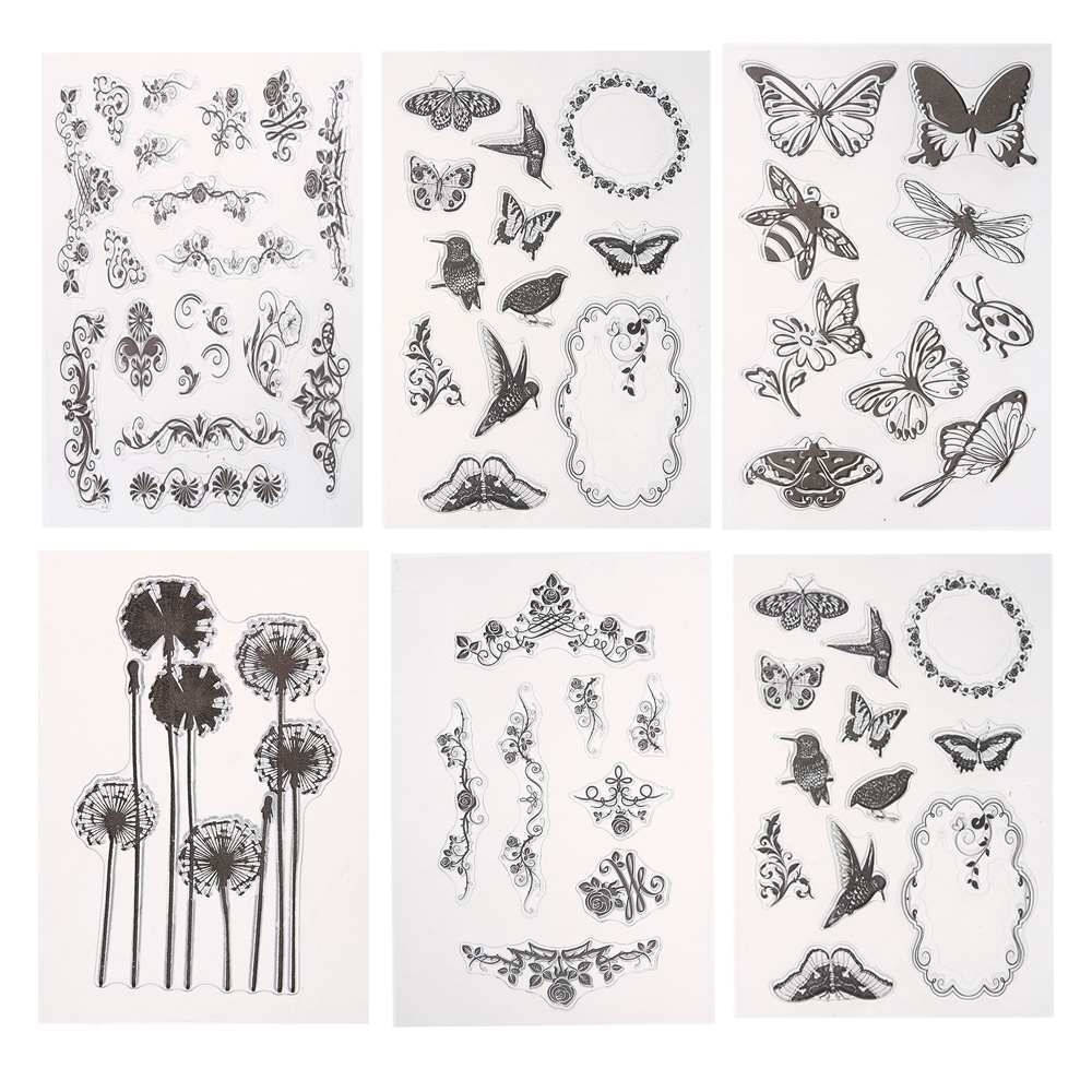 DIY Transparent Clear Stamp Paper Cards Silicone Stamp Seal for Scrapbooking Photo Album Decoration Clear Stamps Sheets about lovely baby design transparent clear silicone stamp seal for diy scrapbooking photo album clear stamp paper craft cl 052