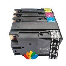 1 полный комплект совместимый hp 932xl 933xl картридж Officejet 6600/6700 Premium e-All-in-One/7610 НОВЫЙ и Sealed