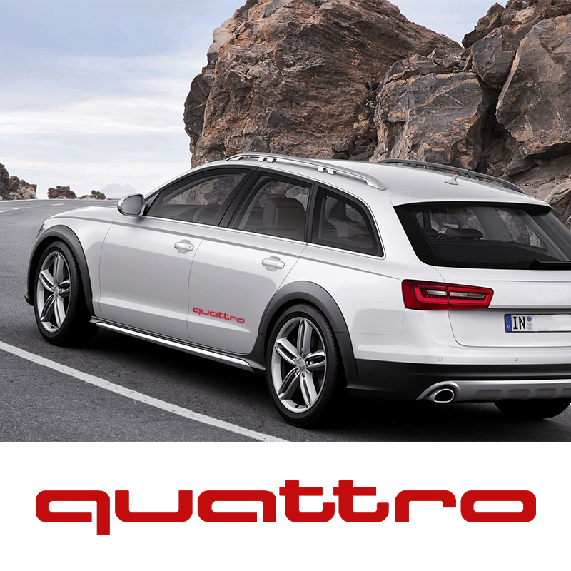 Oracal sticker Quattro Vinyl Decal sticker Sport Racing emblem logo for audi A3 A4 S4 S3 S5 TT S7 RS A5 A6 A7 A8 A1 Q3 Q5 Q7 oem glove box lights set 8kd 947 415 c 4b0 947 415 a 8d0 947 415 fit vw audi a3 a4 a5 a6 allroad quattro a7 q3 q5 q7 tt