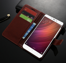 Xiaomi Redmi Note 4 Case Luxury Flip Wallet Leather Cover With Card Slot Phone Cases For Xiaomi Redmi Note 4X / Redmi Note 4