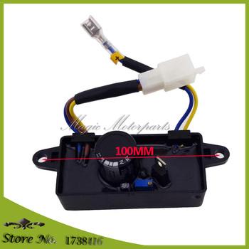 Regulator napięcia prostownik jednofazowy prostownik AVR dla 2KW 2 5KW 3KW chiński Generator tanie i dobre opinie xlyze Voltage Regulator Rectifier Single Phase AVR For 2KW 2 5KW 3KW Chinese Generator