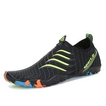 Scarpe Donna Estate Aqua Scarpe Uomo Sneakers in gomma traspirante Pantofole da spiaggia per adulti Scarpe da trekking antiscivolo Calzini da sub