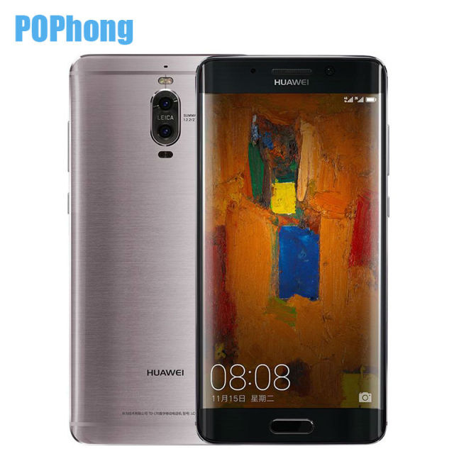 Original Huawei Mate 9 Pro Android 7.0 Cell Phone 2K Screen Kirin 960 Octa Core 4GB 64GB 5.5 inch Dual Rear Camera LTE Infrared