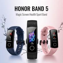 Оригинальный Смарт браслет Huawei Honor Band 5 с функцией измерения уровня кислорода в крови