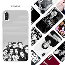Teen Wolf Dylan Obrien Phone Case Cover for iPhone XR XS Max X 6 6S 7 8 Plus 5 5S SE 5C Hard PC Plastic Coque Shell Bumper Bags(China)