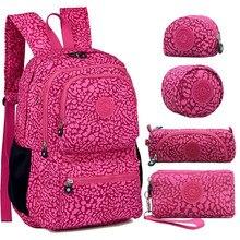 0f90c77af Women Original Kipled Mochila Mujer Escolar Feminina Backpack School Bag  For Teenager Girl Nylon Waterproof Backpacks