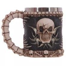 3D Scarry skull mug drinkware coffee mugs with handgrip birthday gift party decor teacup office mugs