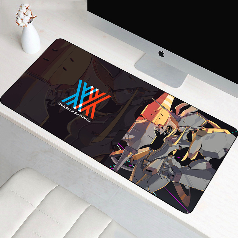 SIANCS 80x40cm large XL Darling in the FranXX mouse pad Anti-slip 02 anime sexy mousepad gaming gamer mouse Keyboard Mat