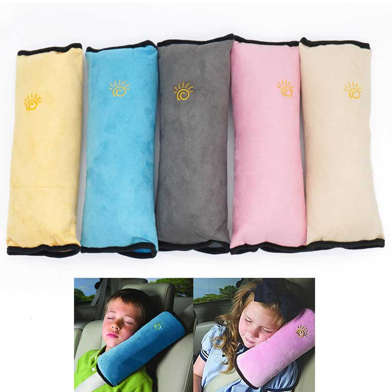 Baby Pillow Car Safety Belt & Seat Sleep Positioner Protect Shoulder Pad Adjust Vehicle
