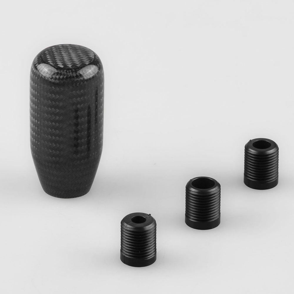 carbon fibre Universal Steel Shift Gear Knob/Car Gear Shift Knob Manual набор рубашек и тросиков переключения jagwire universal pro shift kit белый pck303