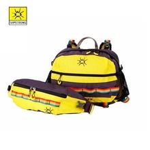 Samstrong Bugu 10L Multifunkcionális hátizsák Derék Szatén Férfi Női Lányok Fiúk Hátizsák Különböző kombinációk Nagy Rainbow táska