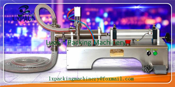 LX-PACK Lowest Factory Price Single Head Liquid Softdrink Pneumatic Filling Machine Reasonable design easy operation 500ml good price g1wy 2y 300 pneumatic double head liquid filling machine for water beverage 30 to 300ml