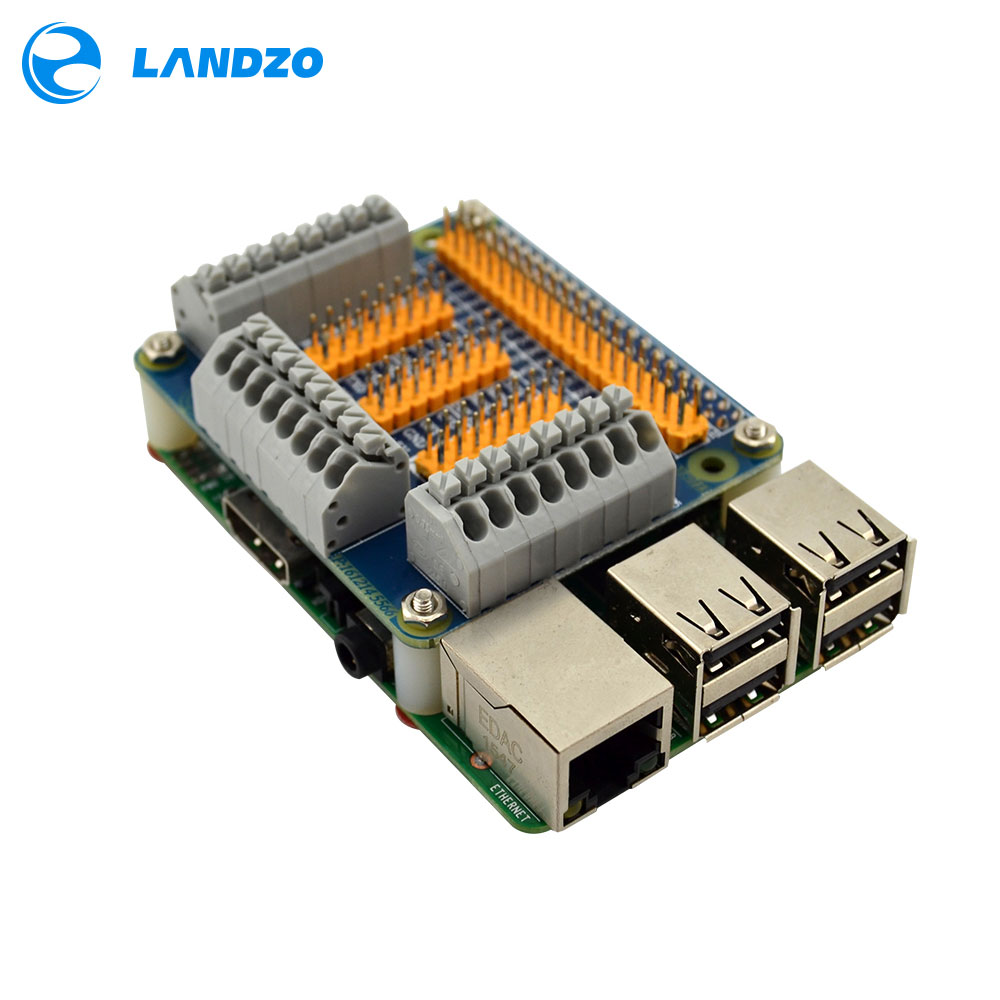 LANDZO Raspberry <font><b>Pi</b></font> 2 / <font><b>3</b></font> model b GPIO Extension <font><b>Board</b></font> Multifunction GPIO Module For <font><b>Orange</b></font> <font><b>Pi</b></font> PC Banana <font><b>Pi</b></font> M3/Pro image
