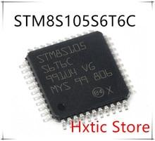 Free Shipping NEW 10PCS STM8S105S6T6C STM8S105 S6T6C LQFP-44