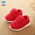 2017 Otoño zapatos de los niños de 1 a 3 años de edad los bebés deportes de las muchachas ocasionales zapatos inferiores suaves zapatos del niño recién nacido los niños zapatillas de deporte