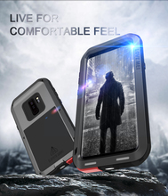 Original Love Mei Powerful Case For Samsung Galaxy S9 5.8 inch /Galaxy S9 plus Shockproof Metal Aluminum Case Cover + Package
