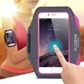 Floveme 5.5 ''Универсальный Водонепроницаемый Запуск Спорт Повязки Чехол Для iPhone 7 6 6 S Плюс 5S 5 SE Для Galaxy S7 S7 Edge S6 Edge плюс