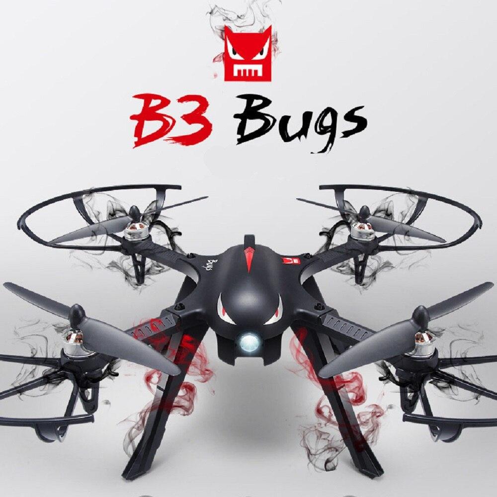MJX Bugs 3 Brushless Drone 500 m Longue Portée 2.4 GHz 3D Flips quadcopter rc avec support caméra 18 min Temps de Vol télécommande salut
