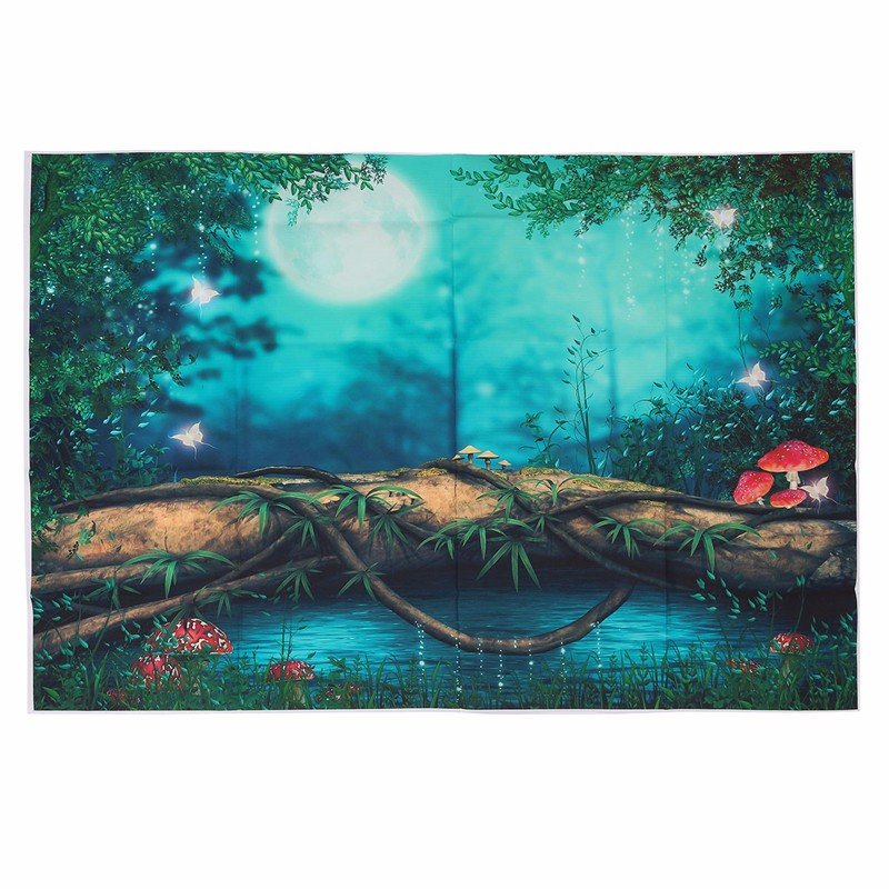 5x3FT Fairy Tale Scenery Photography Background For Studio Photo Props vinyl Photographic Backdrops cloth 1mx 1.5M shengyongbao 300cm 200cm vinyl custom photography backdrops brick wall theme photo studio props photography background brw 12